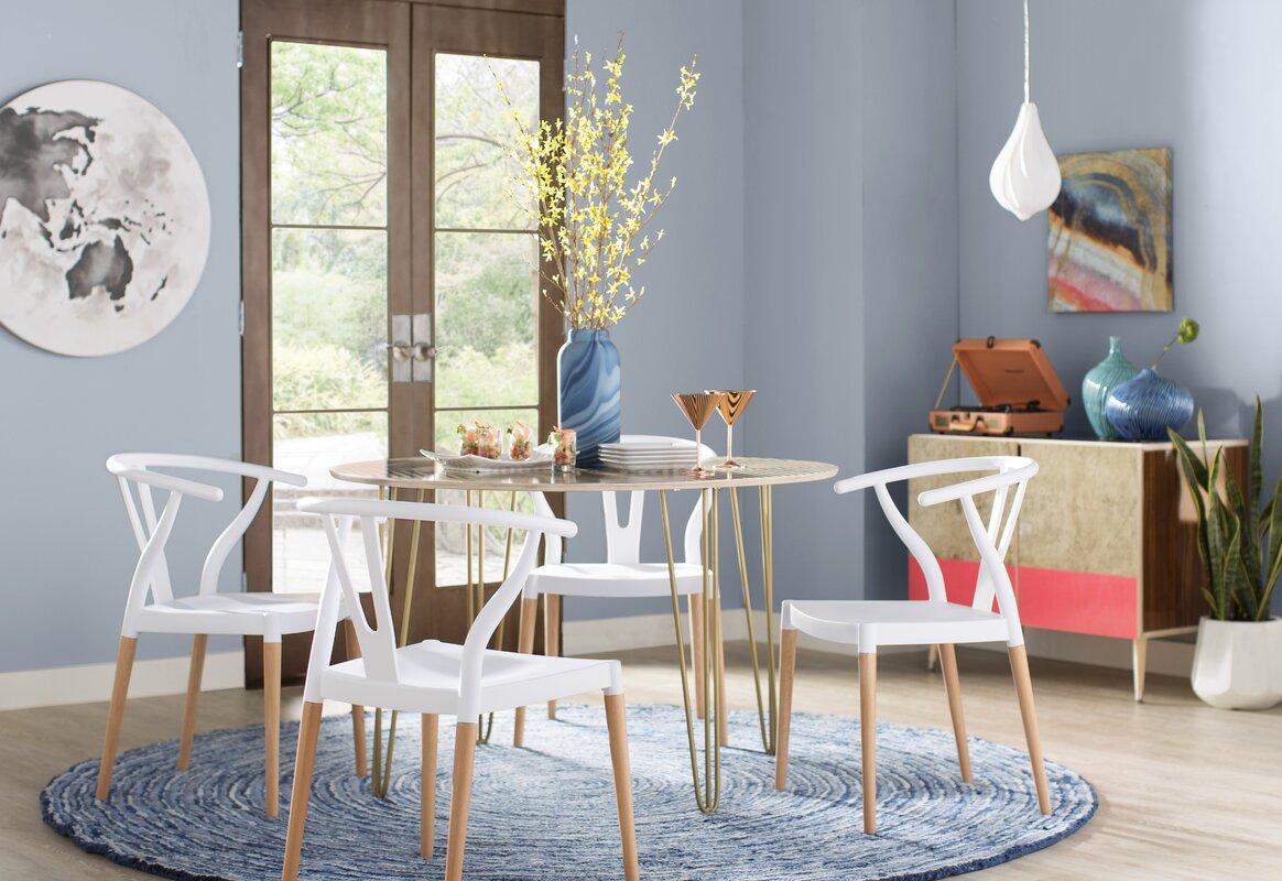 Wade Logan Corbin Dining Table & Reviews | Wayfair