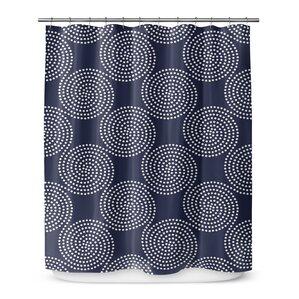 Swirls Shower Curtain