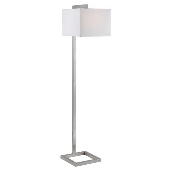 Industrial floor lamps youll love wayfair mozeypictures Gallery