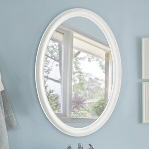 Mist Free Oval Wall Mirror