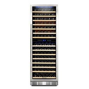 157 Bottle Dual Zone Convertible Wine Cellar