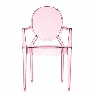 Incroyable Pink Ghost Chair   Wayfair