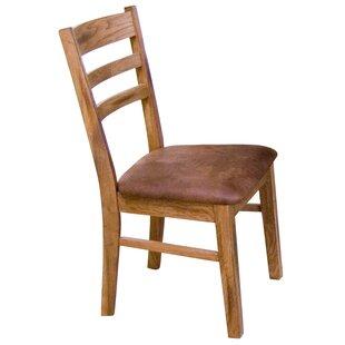 Fresno Ladder Back Upholstered Dining Chair