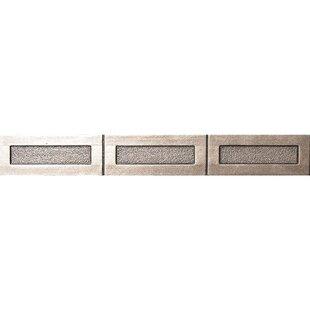Pandora 12 X 2 Metal Look In Brushed Nickel