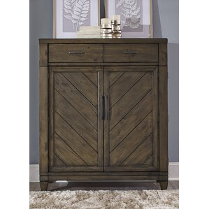 Modern Country 2 Drawer Combo Dresser ..
