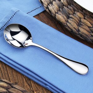 Rain Stainless Steel Place Spoon (Set of 12)