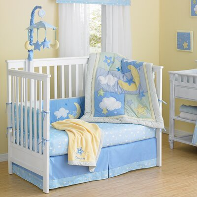Wish I May 4 Piece Crib Bumper Set