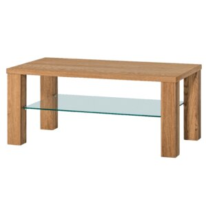 Myria Coffee Table with Magazi..