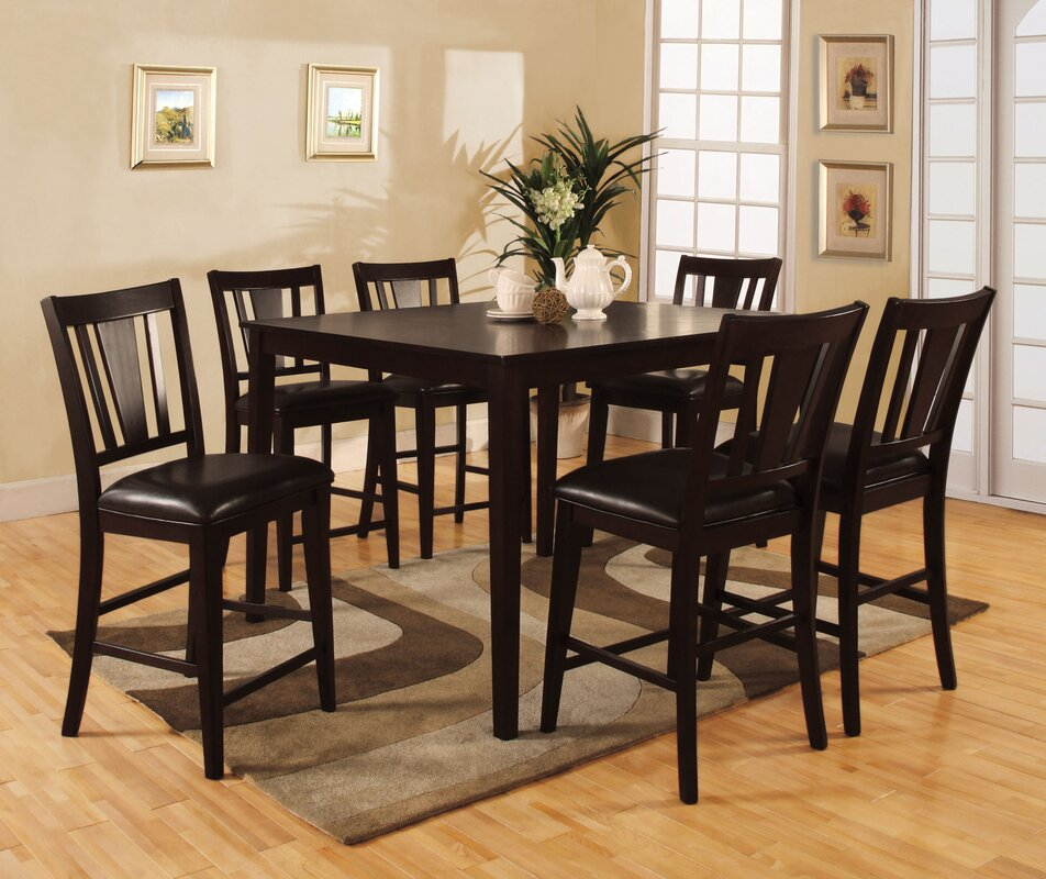 Eastgate Leal 7 Piece Counter Height Dining Set