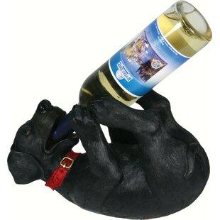 Seville Black Lab 1 Tabletop Wine Bottle Rack