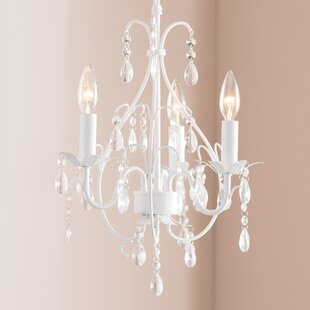 Hanging glass ball chandelier wayfair evon 3 light led balls crystal chandelier aloadofball Image collections