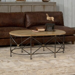 Drum and Fife Coffee Table by Sarreid Ltd