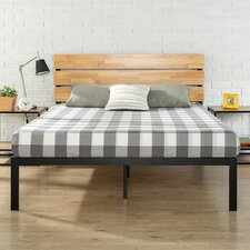 Inshore Metal/Wood Platform Bed
