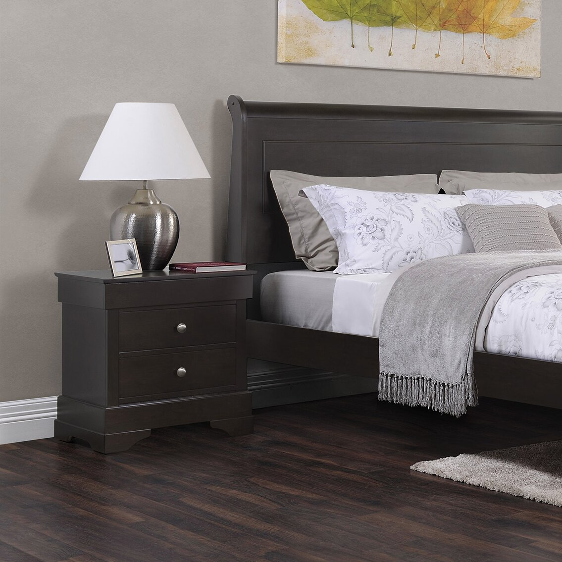 4 pc mcferran furniture b1500 manhattan bedroom set. manhattan ...