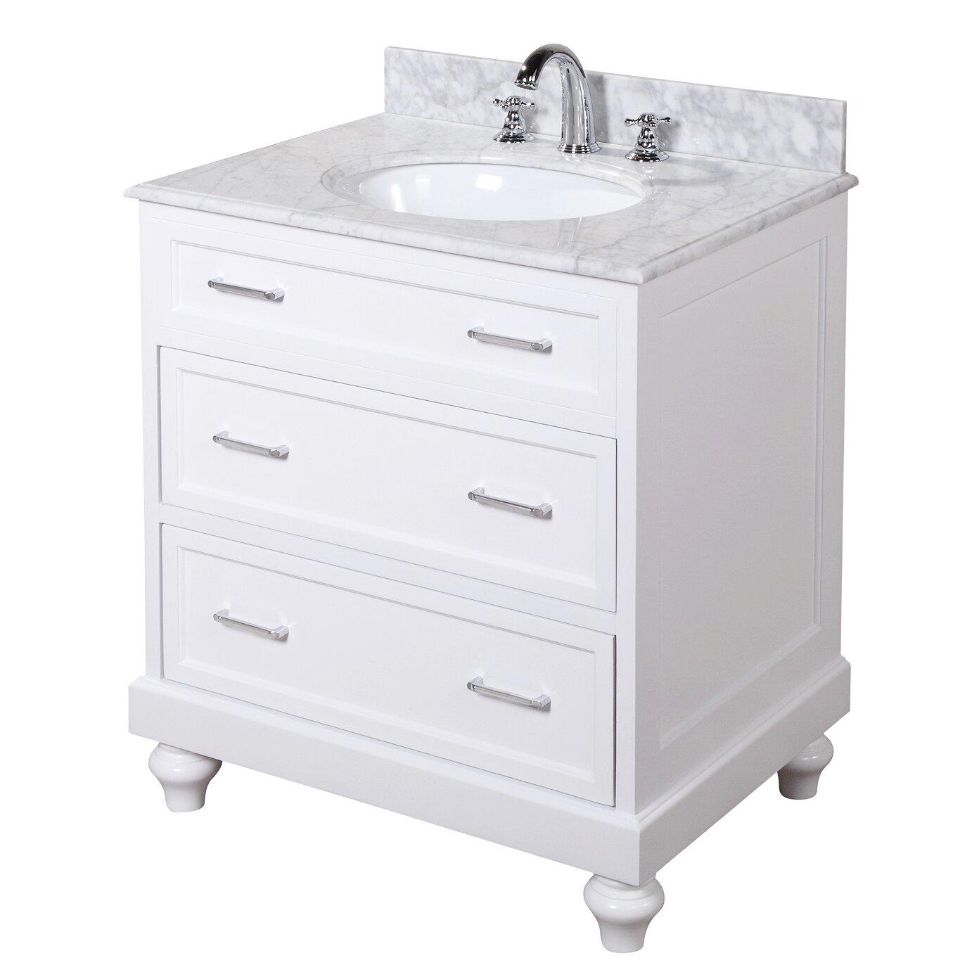 Kbc Amelia 30 Single Bathroom Vanity Set Reviews