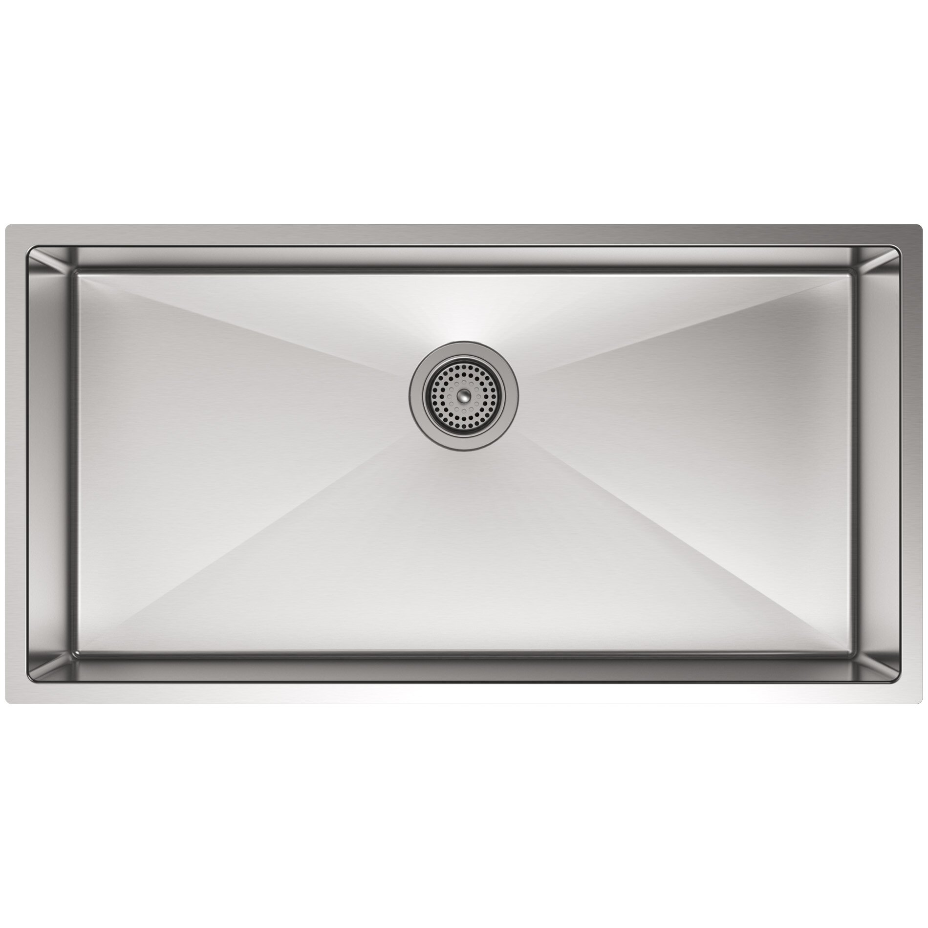 strive 35 x 18 516 x 9 516 - Bowl Kitchen Sink