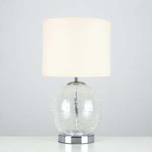 Pablo Touch 45cm Bedside Lamp with Bulb