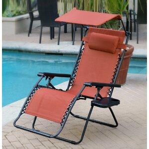 Oversized Olefin Zero Gravity Chair