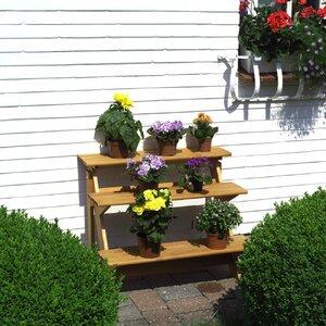 Rechteckig Blumentreppe