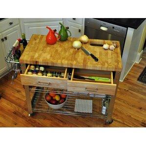 rustic kitchen islands & carts - kitchen & dining furniture | wayfair