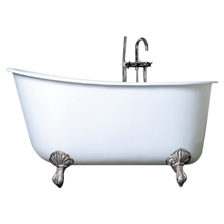 Cambridge Plumbing 57 5 X 29 5 Claw Foot Slipper Bathtub