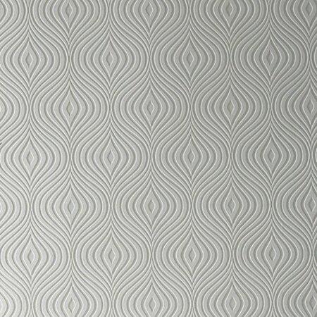 Graham brown paintable curvy 33 39 x 20 geometric 3d for 3d embossed wallpaper