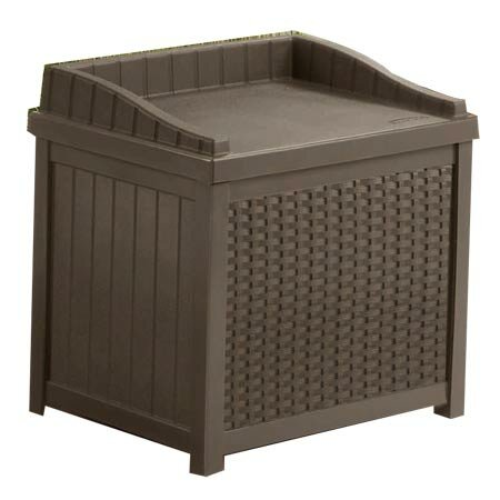 Suncast Williston 22 Gallon Resin Storage Bench Reviews Wayfair