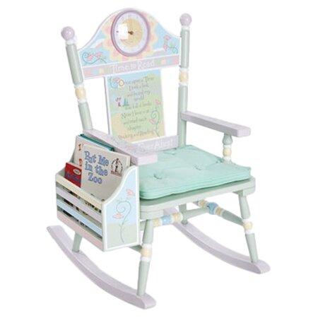 ... Rock A Buddies Time to Read Kids Rocking Chair & Reviews  Wayfair