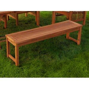Widmer Patio Dining Bench