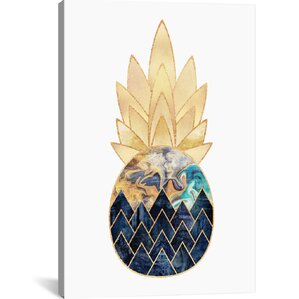 Precious Pineapple I Canvas Print