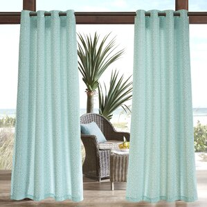 Callery Outdoor Single Curtain Panel