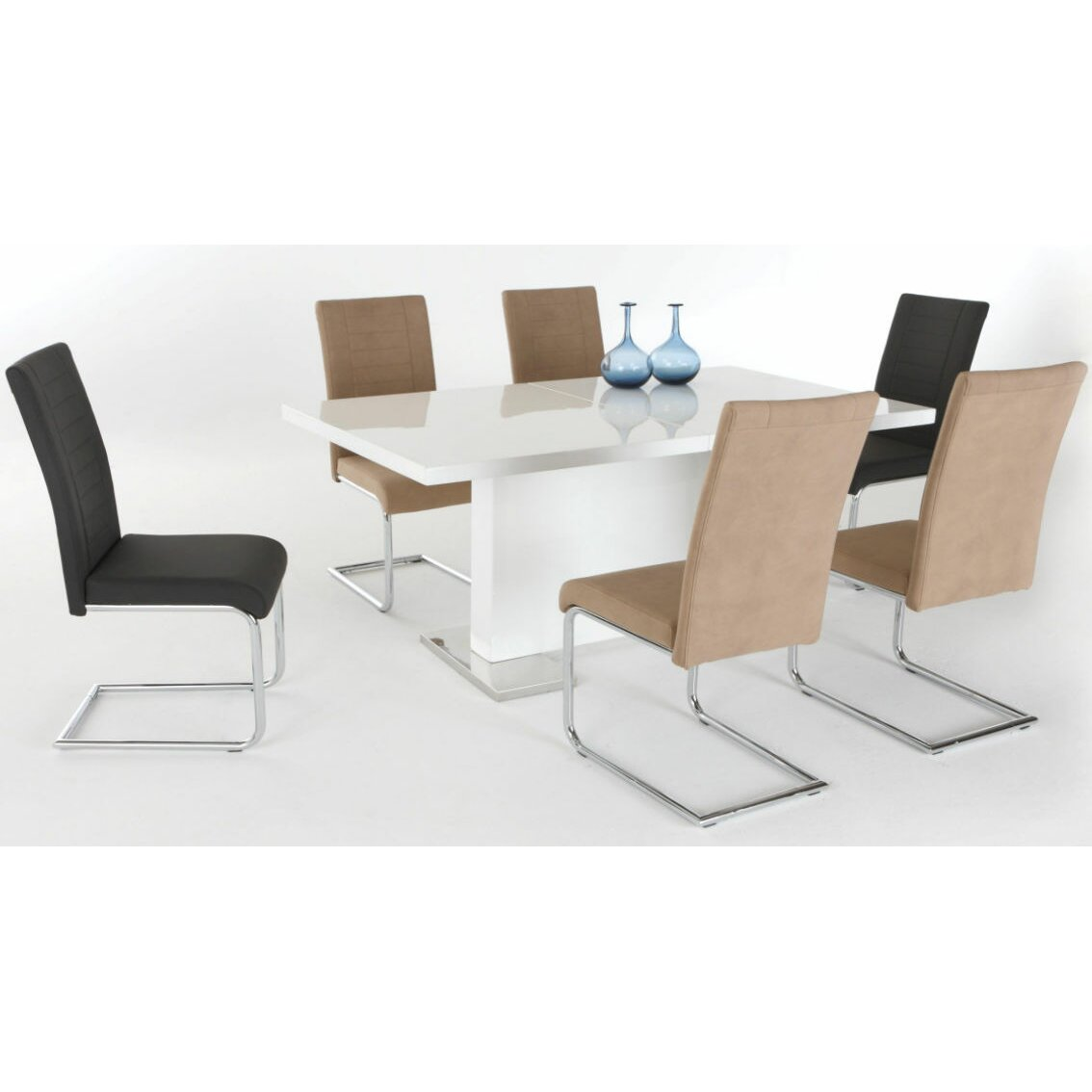 hela tische ausziehbarer esstisch iris bewertungen. Black Bedroom Furniture Sets. Home Design Ideas