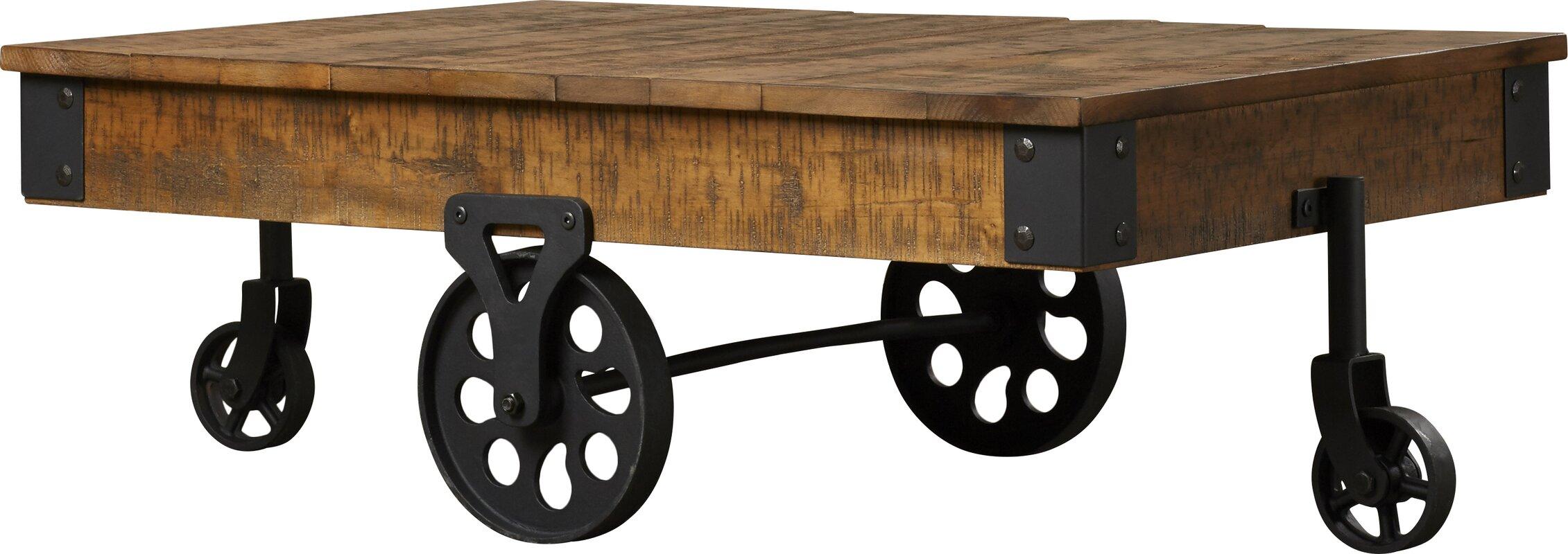 trent austin design bruay coffee cart table & reviews | wayfair