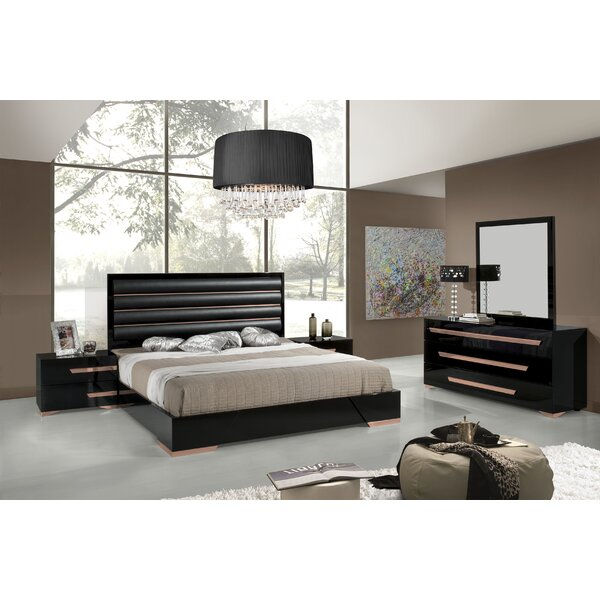 Willa Arlo Interiors Kiara Platform 5 Piece Bedroom Set | Wayfair