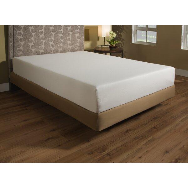 independent sleep 10 plush memory foam mattress reviews wayfair - Memory Foam Bed Frame