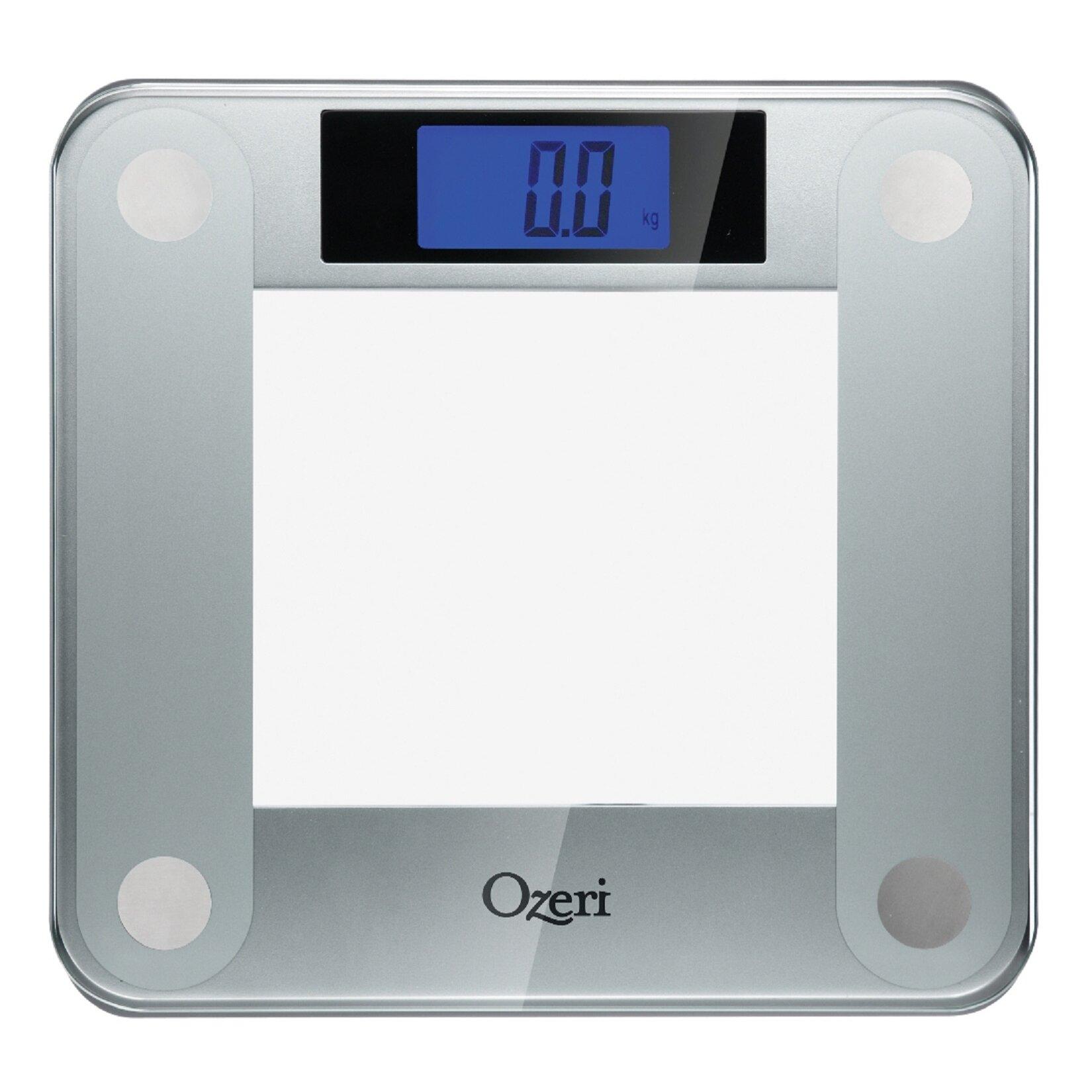 Ozeri Precision II Digital Bathroom Scale (440 lbs ...