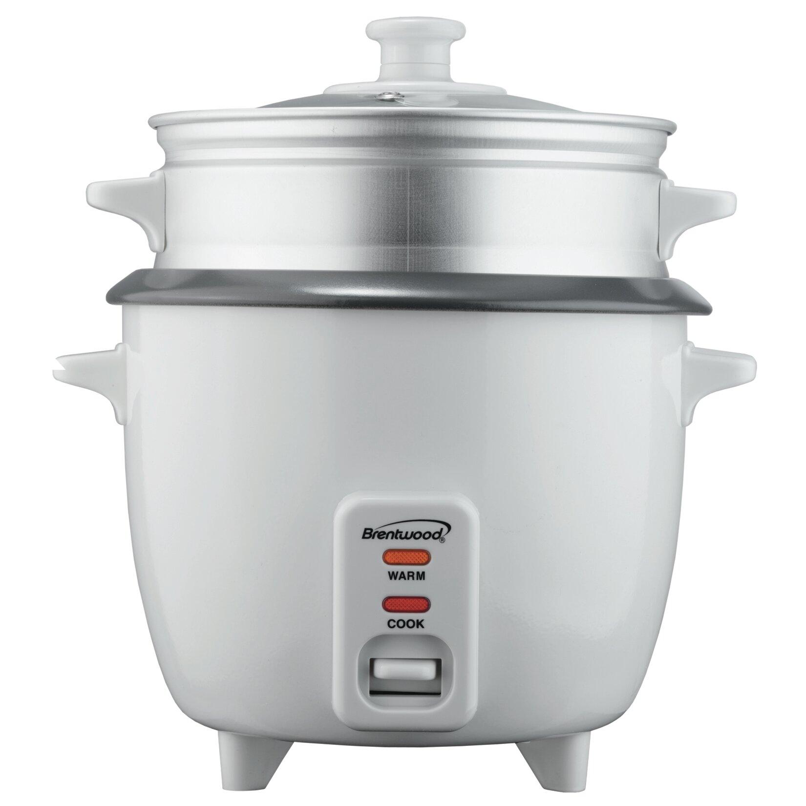 Uncategorized Steamer Kitchen Appliance brentwood rice cookersteamer reviews wayfair cookersteamer