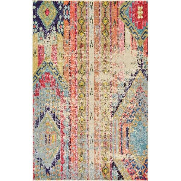 Bungalow Rose Rohini Multicolor Area Rug U0026 Reviews   Wayfair