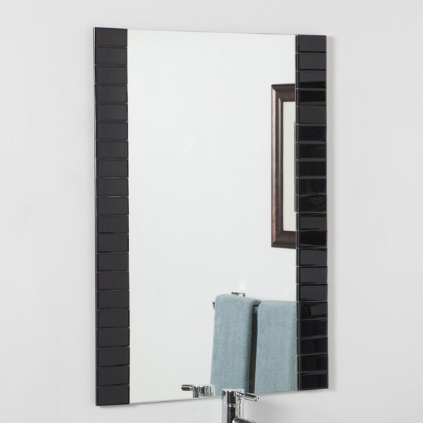 Beveled Wall Mirror decor wonderland beveled wall mirror & reviews | wayfair
