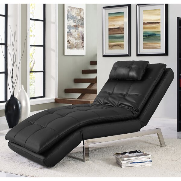 Serta Futons Vienna Convertible Chaise Lounge u0026 Reviews | Wayfair.ca : emily futon chaise lounger - Sectionals, Sofas & Couches