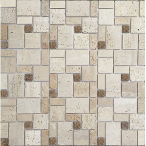 12 X 12 Natural Stone Peel Stick Mosaic Tile