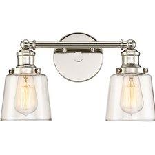 Barney 2-Light Vanity Light