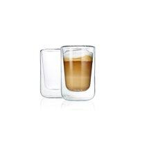Nero 8.4 oz. Insulated Double Wall Cappuccino Glasses (Set of 2)
