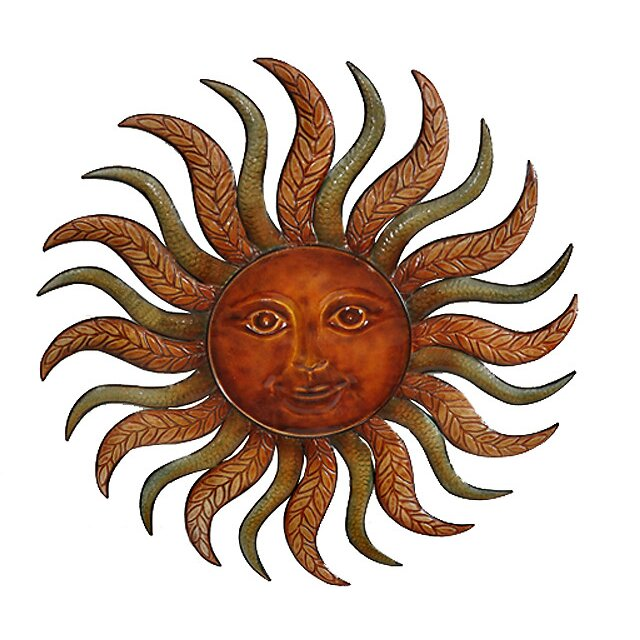 metal sun burst wall dcor - Sun Wall Decor