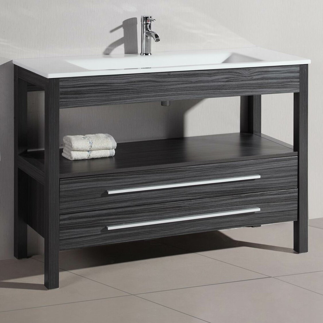 48 Single Modern Bathroom Vanity Reviews Allmodern