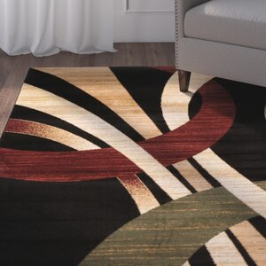Beachmount Black Area Rug