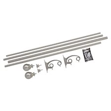 Diverge Double Curtain Rod and Hardware Set