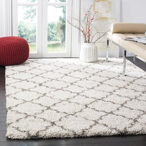 Samira Shag Ivory/Gray Area Rug Part 95