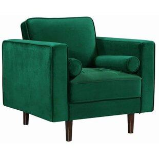 Modern Contemporary Dark Green Chair Allmodern