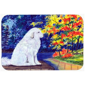 Great Pyrenees Kitchen/Bath Mat